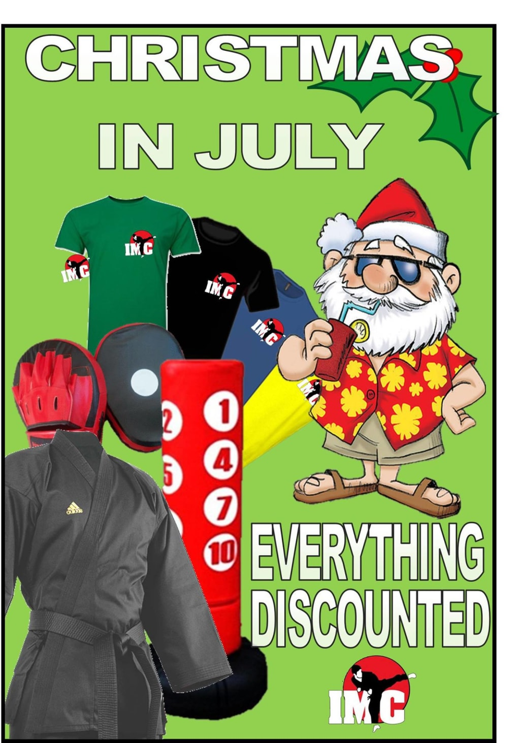 Kids Karate in Prestons and Liverpool - IMC Liverpool - Christmas in July Sale