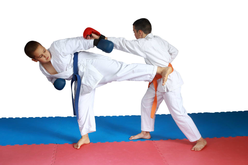 Kids Martial Arts in Oakleigh - Challenge Martial Arts & Fitness Centre  - Sparring