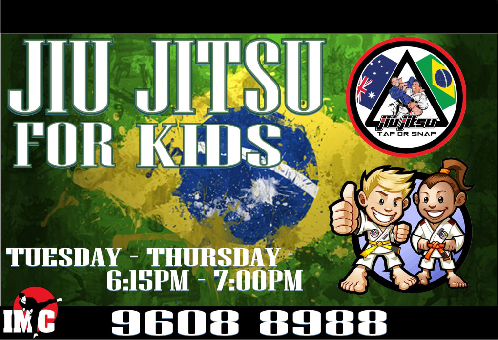 Kids Karate in Prestons and Liverpool - IMC Liverpool - Kids Brazilian Jiu Jitsu