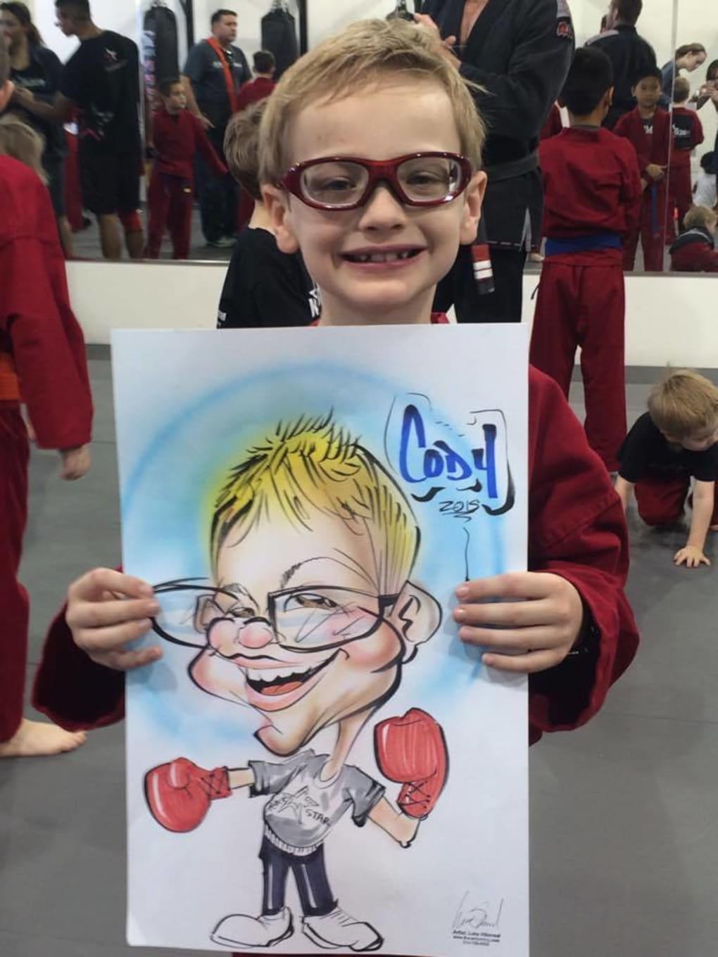 Kids Martial Arts in Frisco - Rockstar Martial Arts and Fitness - RockStar of the Year