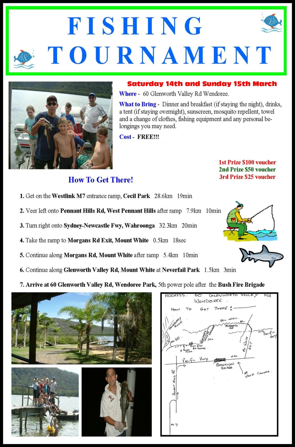 Kids Karate in Prestons and Liverpool - IMC Liverpool - Fishing Tournament