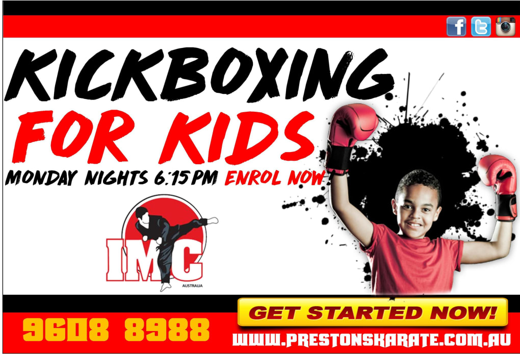 Kids Karate in Prestons and Liverpool - IMC Liverpool - Kids Kickboxing