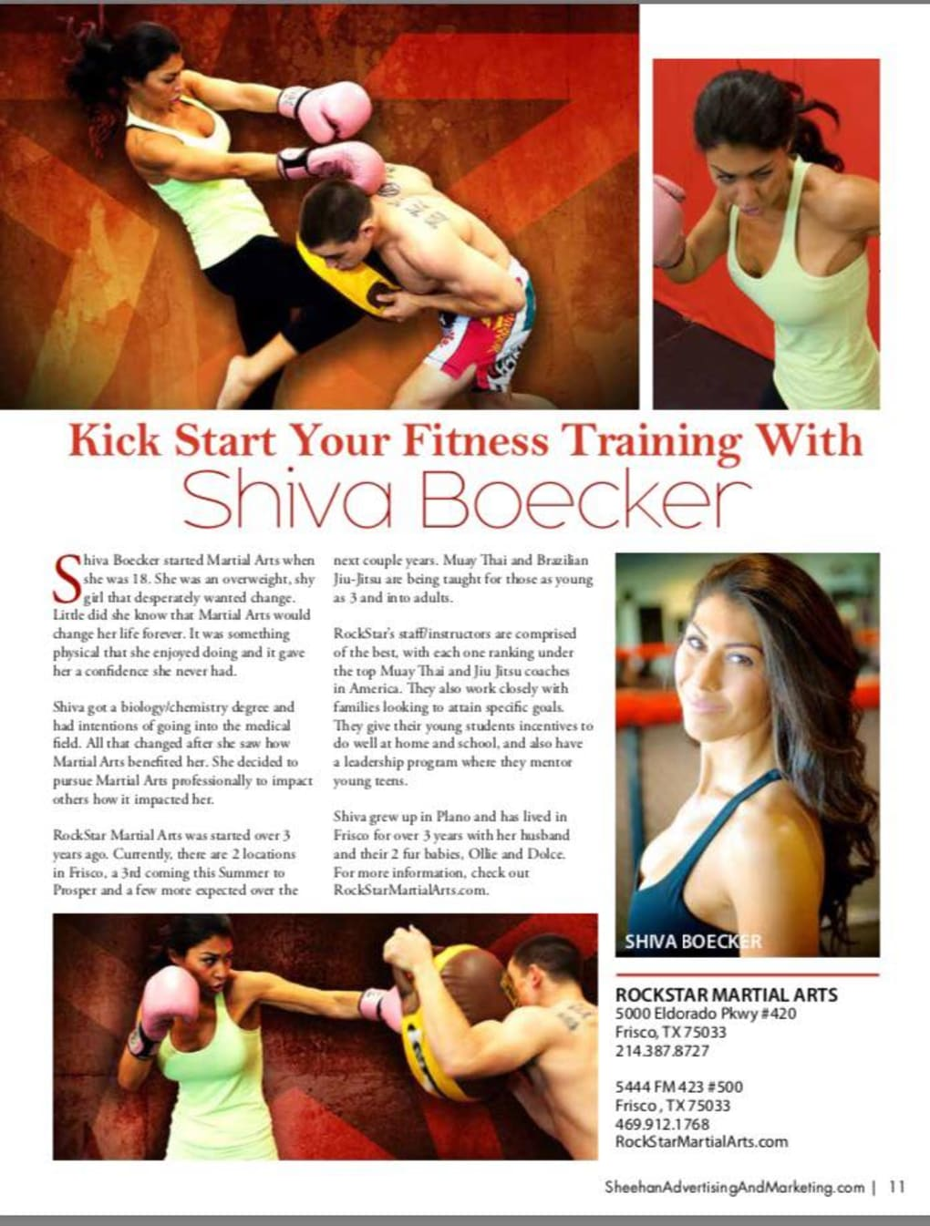 Kids Martial Arts in Frisco - Rockstar Martial Arts and Fitness - RockStar was chosen as The Best in Collin County! Check out this article in The Best in Collin County Magazine!