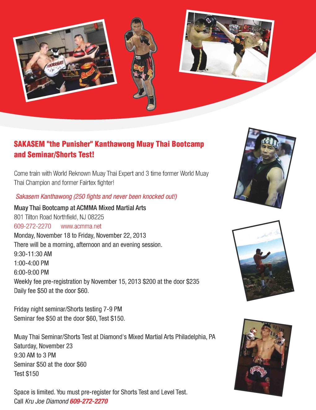Kids Martial Arts in Philadelphia - Commando Krav Maga and Diamond Mixed Martial Arts - SAKASEM  Kanthawong Muay Thai Bootcamp