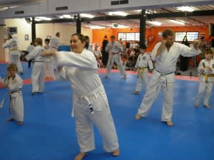 students in family martial arts  in Townsville - Academy Of Choi Kwang Do