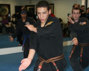 students in martial arts  in Midvale, Sandy, and Kearns - West Wind Karate