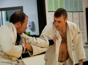 students in brazilian jiu jitsu  in Portland and Beaverton - Five Rings Jiu Jitsu