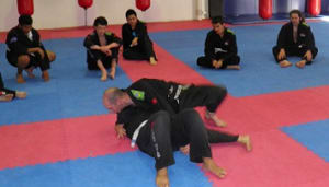 students in brazilian jiu jitsu in Prestons and Liverpool - IMC Liverpool