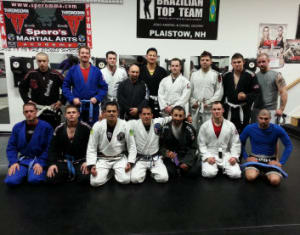 students in brazilian jiu jitsu  in Plaistow - Spero's Martial Arts Academy