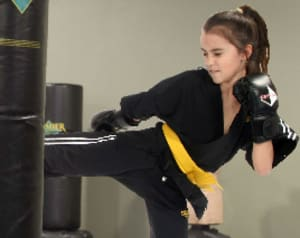 students in kids karate in - West Coast Krav Maga