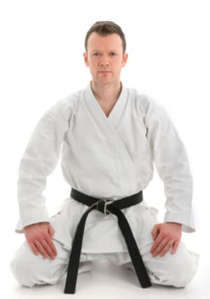 students in adult karate  in Hanover - Thurston Martial Arts