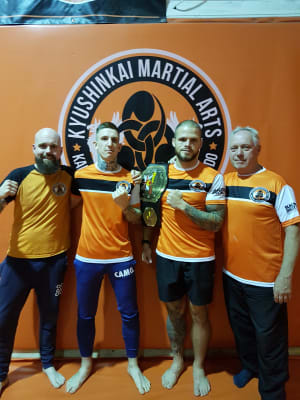 students in Mixed Martial Arts  in Telford - Kyushinkai Martial Arts & Fitness