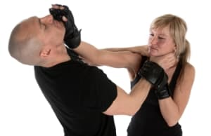 students in female self defence in Caboolture - Red Dragon Martial Arts