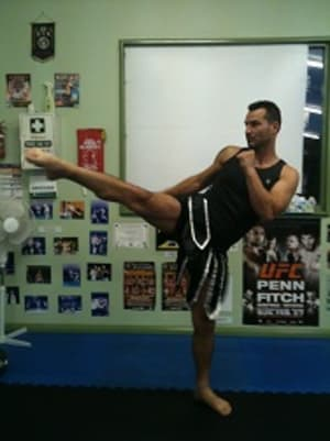 students in muay thai kickboxing  in Marrickville - Zeus International Martial Arts Academy