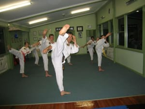 students in Taekwondo in Marrickville - Zeus International Martial Arts Academy
