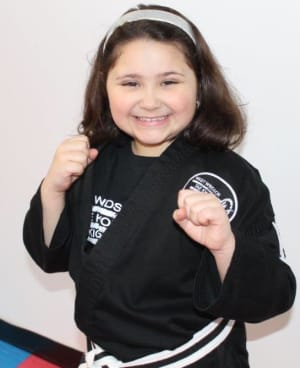 students in little dragons  in West Windsor - West Windsor Taekwondo & Kickboxing Academy