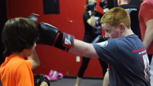 students in kids martial arts  in St. Charles - MidWest Krav Maga