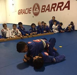 students in kids brazilian jiu jitsu in Novi - Gracie Barra Novi