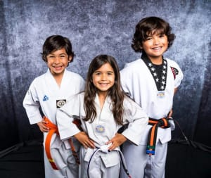 students in little hero martial arts in Spring - HERO Martial Arts Academy