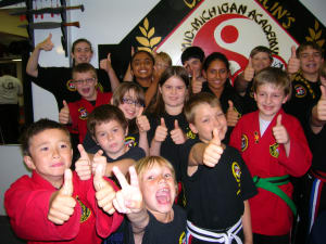 students in kids martial arts  in Lansing - Mid-Michigan Academy of Martial Arts