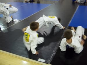 students in youth jiu jitsu in Berlin - South Jersey Jiu Jitsu