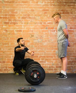 students in personal training in Nottingham - rb5 Personal Training