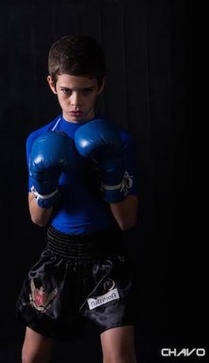 students in kids martial arts in Kansas City - Brass Boxing & Jiu Jitsu