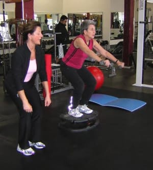 students in personal training  in Bellevue - Balanced Bodyworks