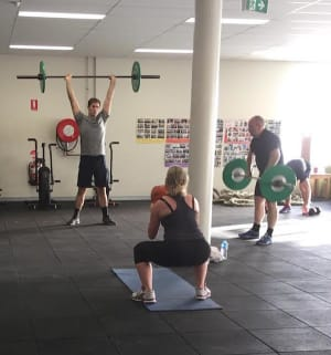 students in small group personal training  in Canberra - Canberra Fitness Centre