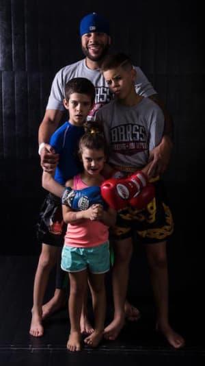 students in family martial arts in Kansas City - Brass Boxing & Jiu Jitsu