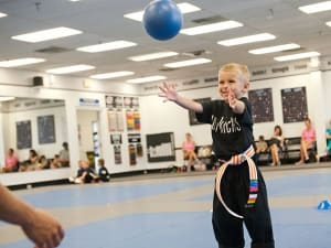 students in early skillz in St. Petersburg - On The Mat Martial Arts