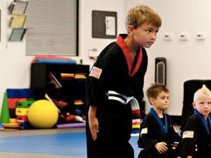 students in basic skillz in St. Petersburg - On The Mat Martial Arts