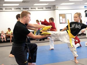 students in core skillz in St. Petersburg - On The Mat Martial Arts