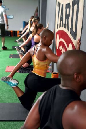 students in Group Fitness in Johannesburg - The Yard Athletic
