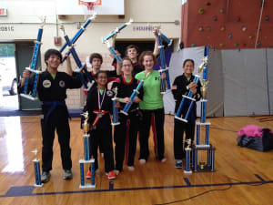 students in teen karate  in Downingtown and Chester Springs - World Martial Arts Academy