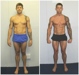students in 12 week body transformation  in Johannesburg - The Yard Athletic