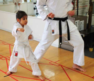students in kids karate in Glendale - International Karate Association
