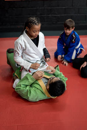 students in kids martial arts  in Salt Lake City - Ultimate Combat Training Center