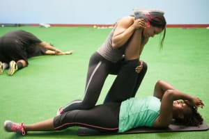 students in personal training in Bowie - Tyson Training