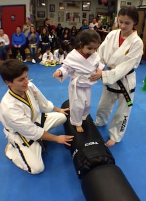 students in kids martial arts  in Albertson - Taecole Tae Kwon Do & Fitness