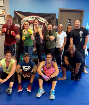 students in get fit boot camp in Philadelphia - Commando Krav Maga and Diamond Mixed Martial Arts