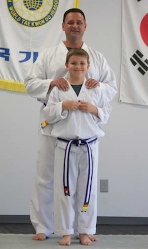 students in family martial arts in Kearney - Advantage Martial Arts