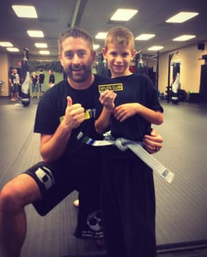 students in kids martial arts in 	 Estero - Training Grounds Martial Arts Academy