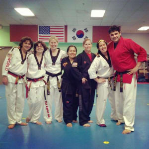 students in adult and family martial arts  in Gresham - World Champion Taekwondo Gresham