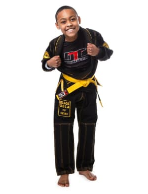 students in kids brazilian jiu jitsu  in Chesapeake - Da Firma Training Center