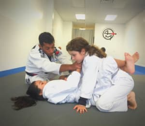 students in kids martial arts  in Great Neck - A Force Brazilian Jiu Jitsu