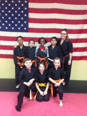 students in kids martial arts in Whitman - The TAMA Dojo