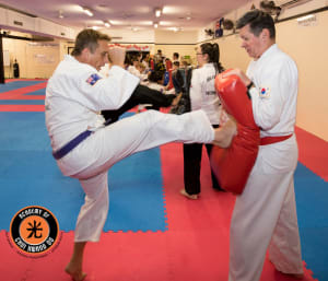 students in adult martial arts  in Townsville - Academy Of Choi Kwang Do