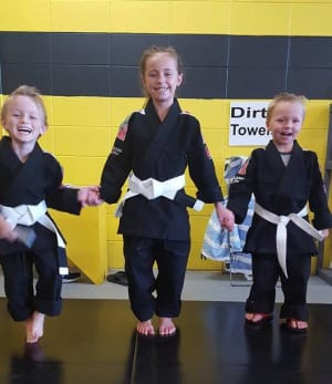 students in kids martial arts  in Foley - Roufusport Martial Arts Foley