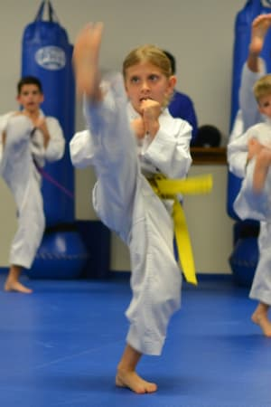 students in kids martial arts  in San Diego - Anthony Hong Tae Kwon Do